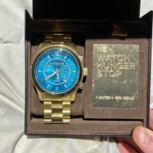 Michael Kors Special Edition Watch Hunger Stop